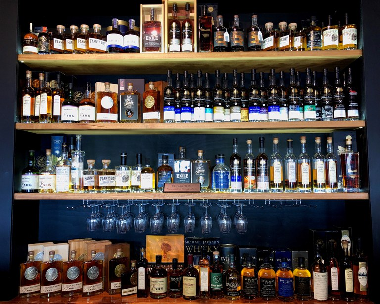 Bruny Island House of Whisky Backbar.jpg