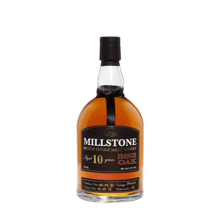 Millstone 10 Year Old French Oak Dutch Single Malt Whisky.png