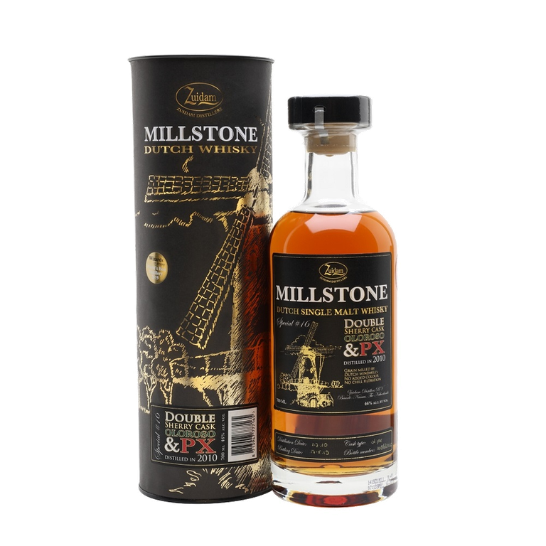 Millstone 2010 Special Release No. 16 Double Sherry Dutch Single Malt Whisky.png