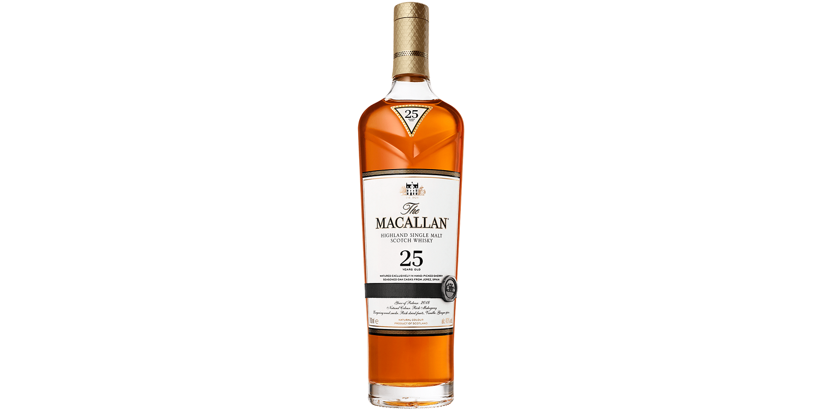 The Macallan Sherry Oak 25 Years Old