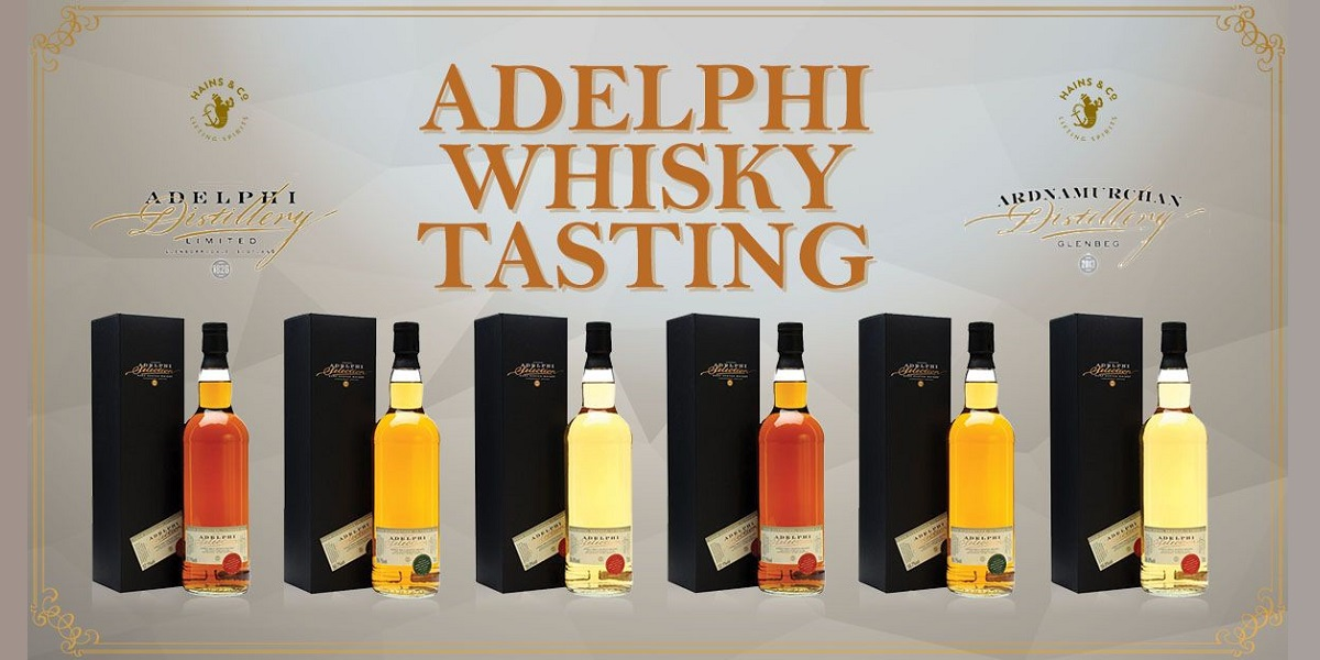 Adelphi Whisky Tasting With Alex Bruce
