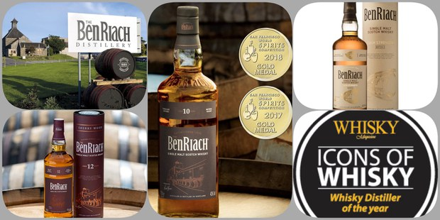 BenRiach Distillery Online Tasting Event