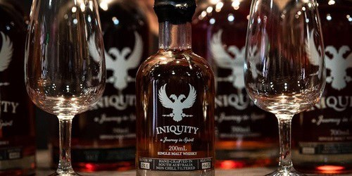 Iniquity 'Design A Dram' Whisky Night Sydney