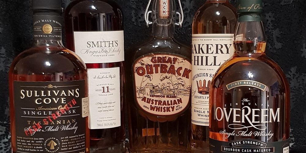 Old and Rare Australian Whisky Tasting