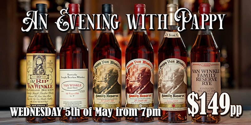 An Evening with Pappy IN VENUE @ Webster's Bar