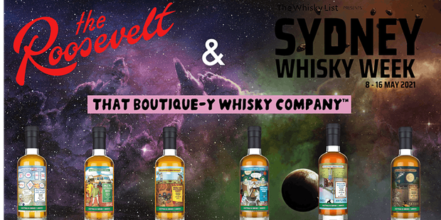 Boutique-y 'Australia Series' Whisky Tasting @ The Roosevelt