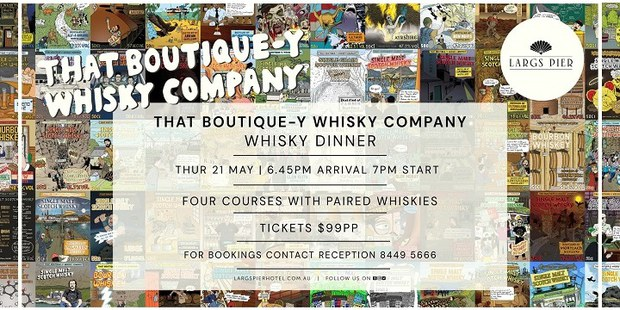 That Boutique-y Whisky Dinner
