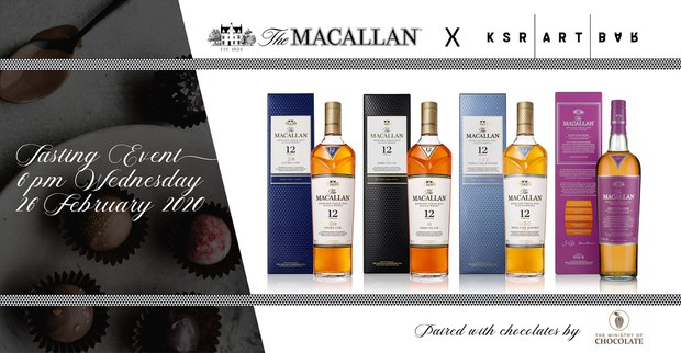 The Macallan Tasting at KSR Art Bar