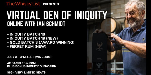 The Whisky List Presents: The Virtual Den of Iniquity