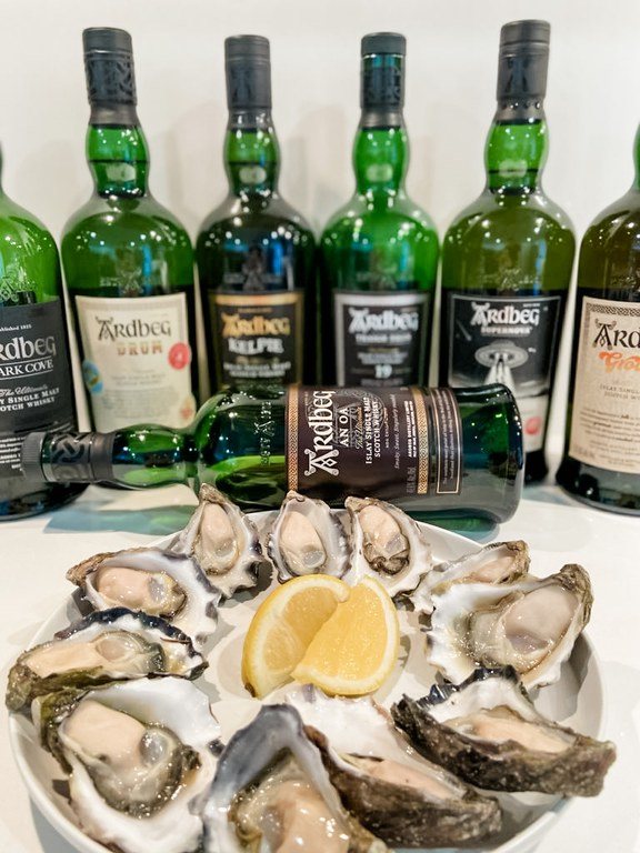 Ardbeg goes so well with Oysters