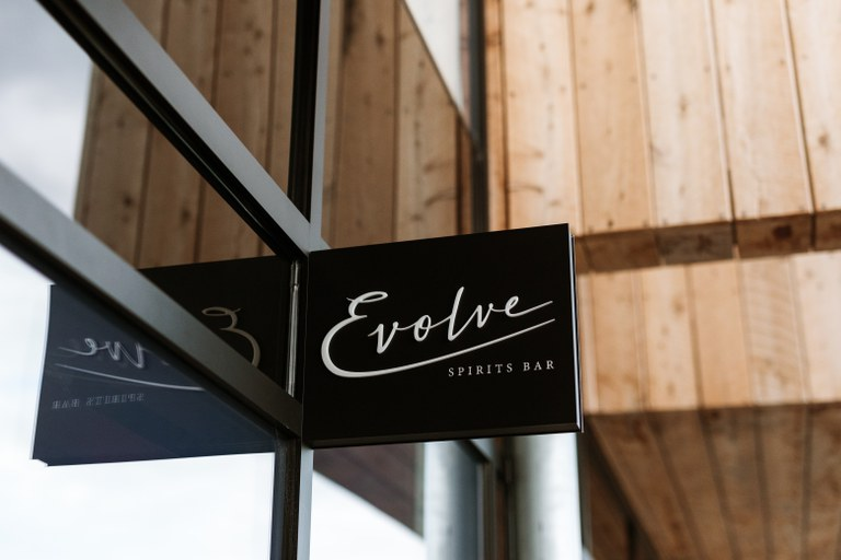 Evolve Spirits Bar Exterior