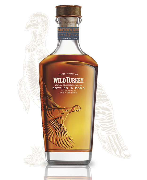 Wild Turkey Bottled In Bond 17 product shot