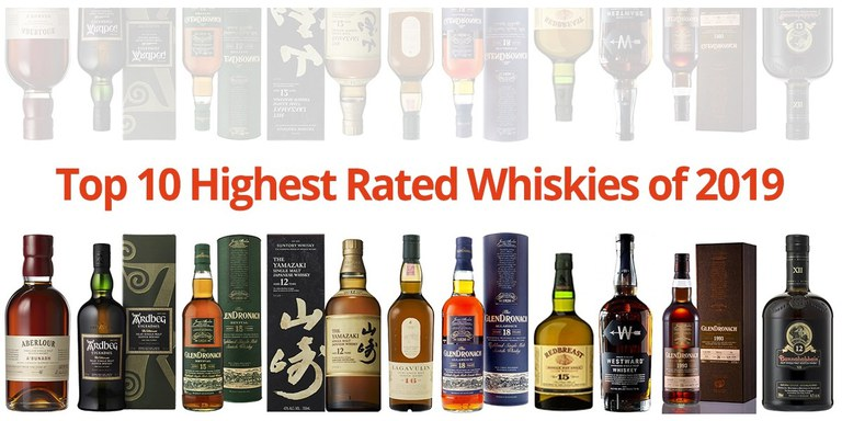 Top 10 Favourite Whiskies of 2019