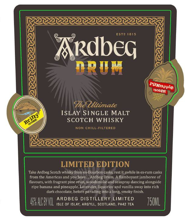 Ardbeg Drum Single Malt Scotch Whisky