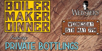 Boilermaker Dinner @ Websters