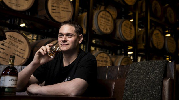 Dave Withers Master Distiller at Archie Rose Distilling Company