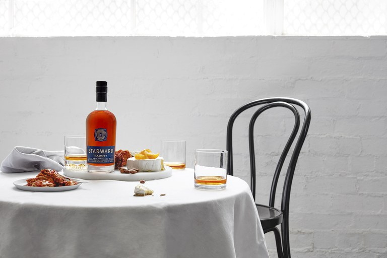 Starward Whisky Tawny Cask Limited Edition Bottle Table