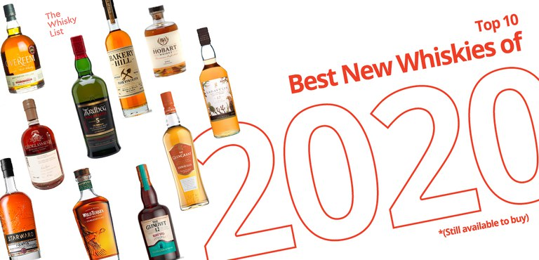Top 10 New Whiskies of 2020