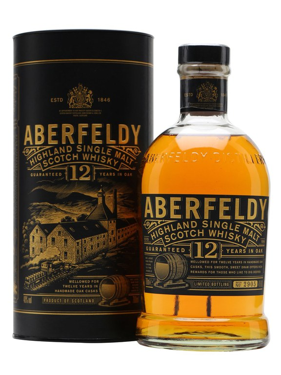 Aberfeldy 12 Year Old Single Malt Scotch Whisky