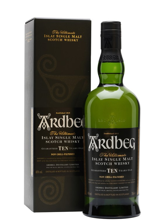 Ardbeg 10 Year Old Single Malt Scotch Whisky