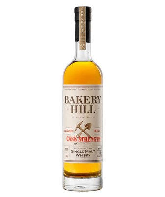 Bakery Hill Classic Cask Strength Australian Single Malt Whisky