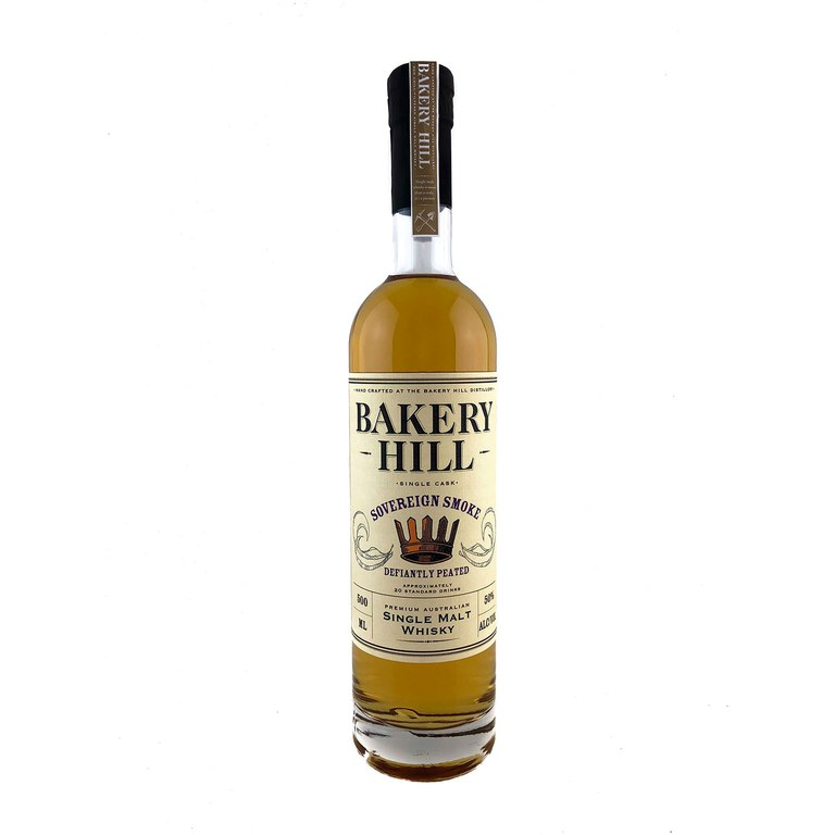 Bakery Hill Sovereign Smoke Defiantely Peated Australian Single Malt Whisky