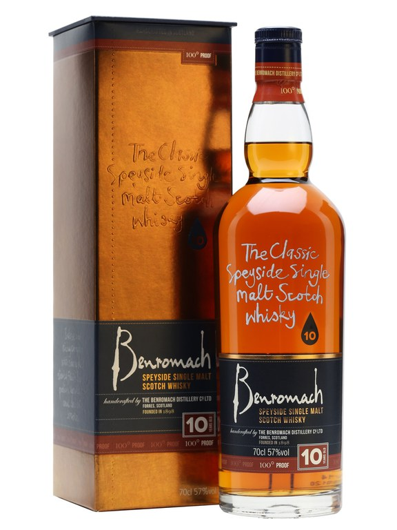 Benromach 10 Year Old 100 Proof Single Malt Scotch Whisky