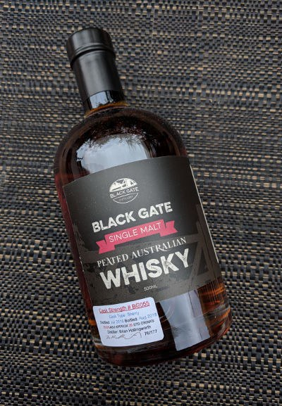 Black Gate Single Cask #BG055 Australian Single Malt Whisky
