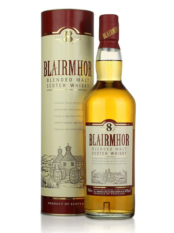 Blairmhor 8 Year Old Blended Malt Scotch Whisky