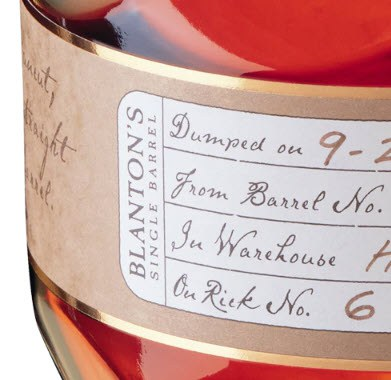 Blanton's Straight From The Barrel Kentucky Straight Bourbon Whiskey