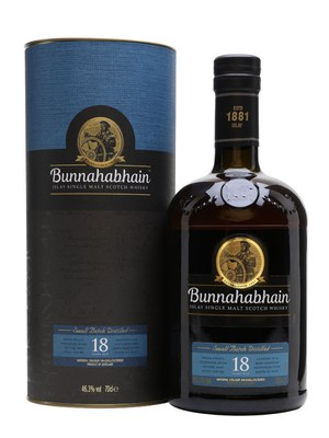 Bunnahabhain 18 Year Old Single Malt Scotch Whisky