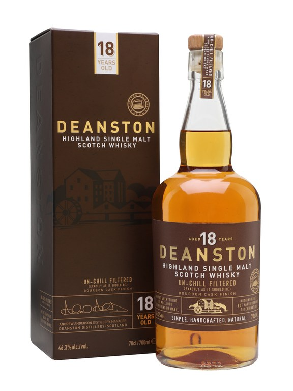 Deanston 18 Year Old Single Malt Scotch Whisky