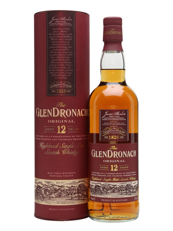 GlenDronach 12 Original Single Malt Scotch Whisky