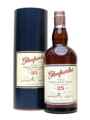 Glenfarclas 25 Year Old Single Malt Scotch Whisky