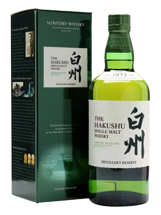 Hakushu Distiller's Reserve Japanese Single Malt Whisky