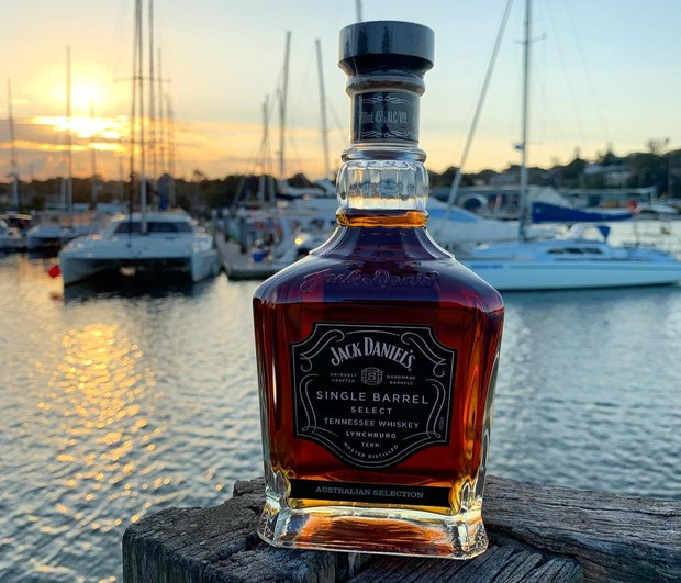 Jack Daniel's Single Barrel Australian Selection Tennessee Whiskey on the Harbour