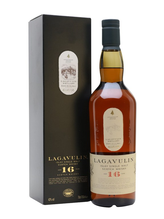 Lagavulin 16 Year Old Single Malt Scotch Whisky