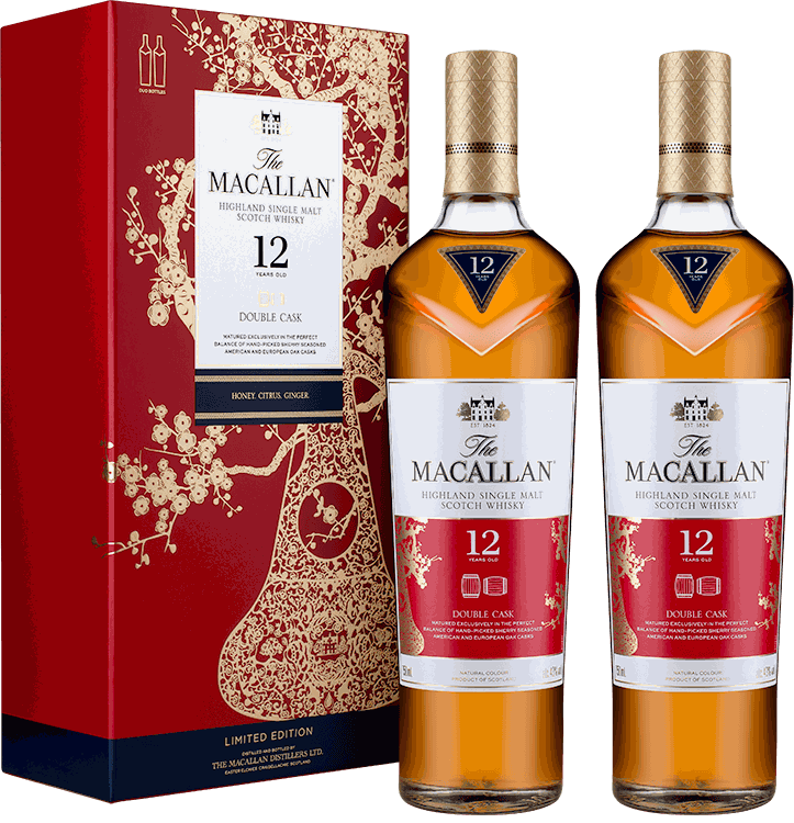 Macallan 12 Double Cask year of the Pig Pack.png
