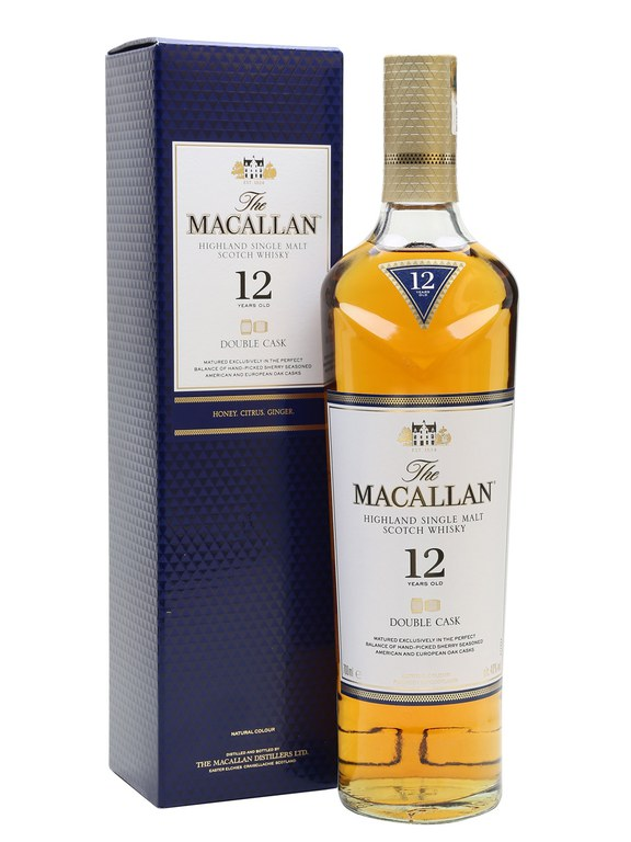 Macallan 12 Year Old Double Cask Single Malt Scotch Whisky