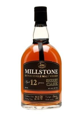 Millstone 12 Year Old Dutch Single Malt Whisky