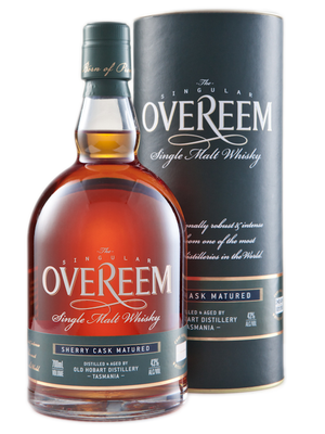 Overeem Sherry Cask Australian Single Malt Whisky