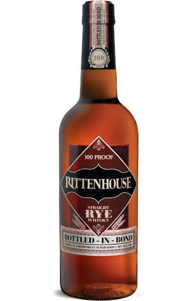 Rittenhouse 100 Proof American Straight Rye Whiskey