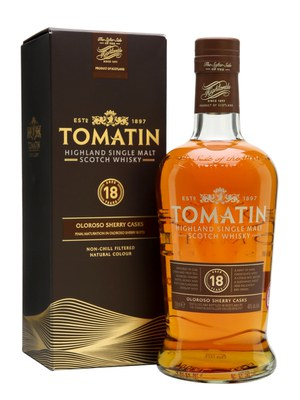 Tomatin 18 Year Old Oloroso Sherry Cask Single Malt Scotch Whisky