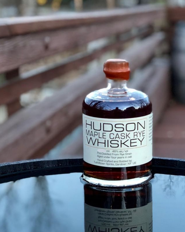 Hudson Maple Cask Rye American Whiskey