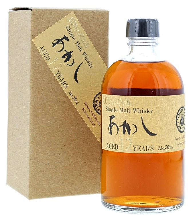 White Oak Akashi 12 Year Old Single Malt Japanese Whisky