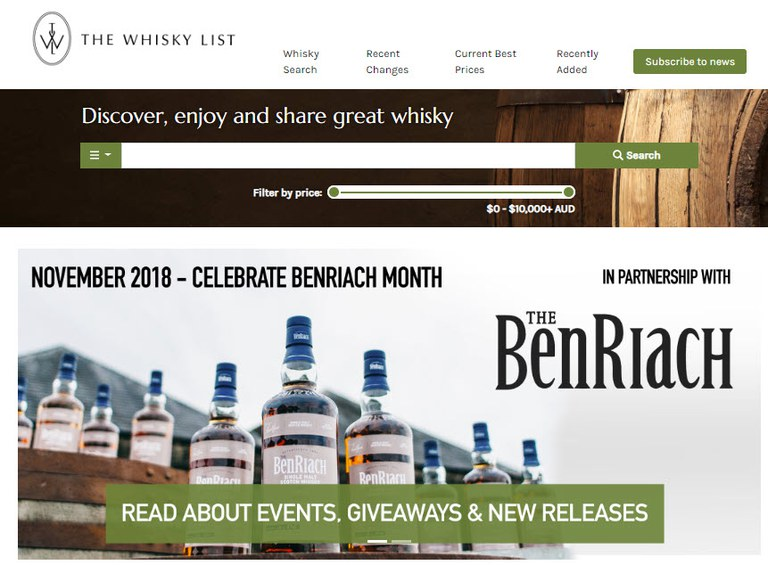 BF BenRiach Month - BA - 20181101