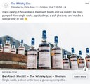 BF BenRiach Month - FB - 20181030