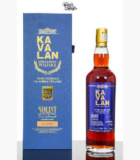 Kavalan Solist Vinho Barrique Matured Cask Strength