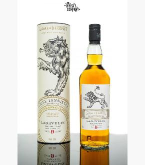Lagavulin 9 Year Old Game of Thrones House Lannister Single Malt Scotch Whisky