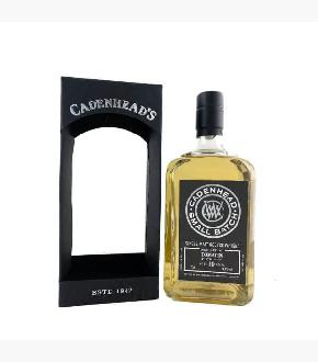 Cadenhead's 2008 Tomatin 10 Year Old Single Malt Scotch Whisky (54.4%)